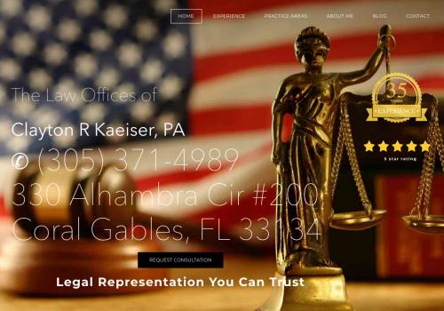 Clayton Kaeiser Attorney At Law