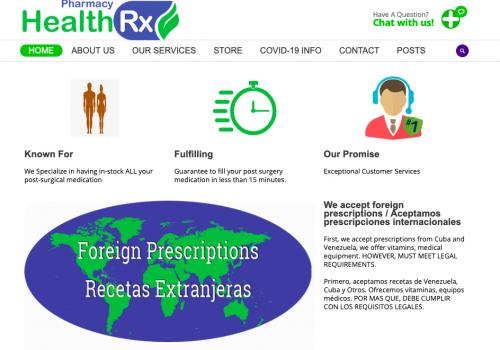 HealthRx Pharmacy